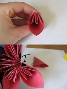 Blüten Aus Papier : die besten 25 blumen basteln aus papier ideen auf pinterest blumen aus papier blumen basteln ~ Eleganceandgraceweddings.com Haus und Dekorationen