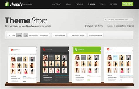 Shopify Themes Review Shopify E Commerce Software