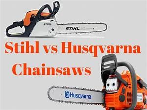 Husqvarna Vs Stihl : stihl vs husqvarna chainsaws december 2019 ~ A.2002-acura-tl-radio.info Haus und Dekorationen