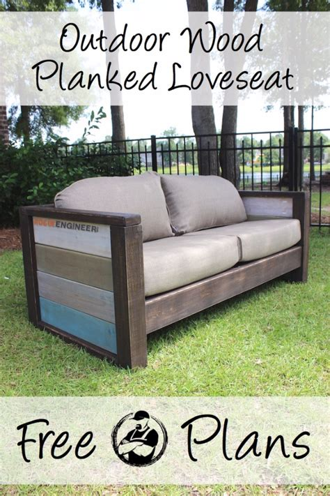 loveseat plans 35 cool diy sofas and couches