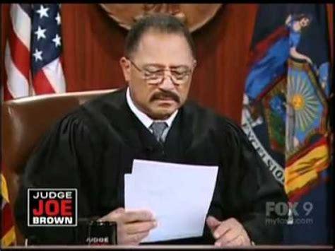 Scow Brow by Judge Joe Brown Show