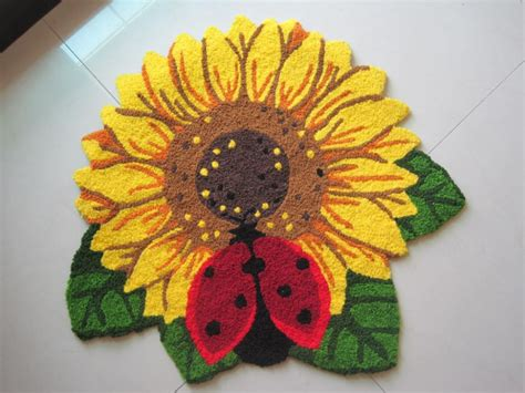 Kitchen Rugs Sunflowers by Sunflower Rugs Kitchen Home Decor