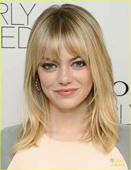 Emma Stone Hair Bangs
