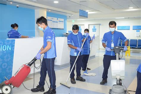 Cleaning Services Power International Facilities Management