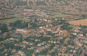 Keyworth Nottingham Spectacular 1980s Aerial View Birds ...