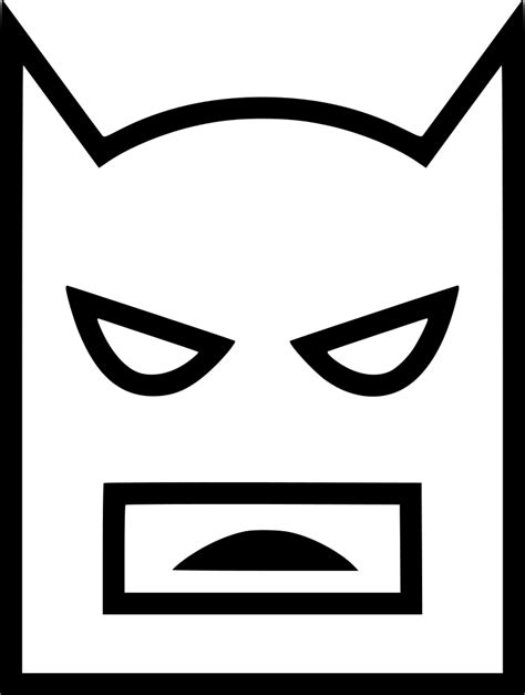 Lego Batman Bat Mask Video Gaming Svg Png Icon Free ...