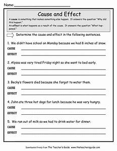 cause and effect worksheets - Google Search | education ...
