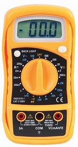 500v Ac  Dc Manual Ranging Digital Multimeter