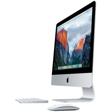 ordinateur de bureau apple mac apple imac 21 5 pouces avec écran retina 4k mk452fn a