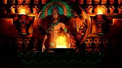 Aztec Warrior Background Wallpapers Montezuma Civilization Azteca