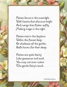 Fairies Dance in the Moonlight Original Fairy Poem DIY