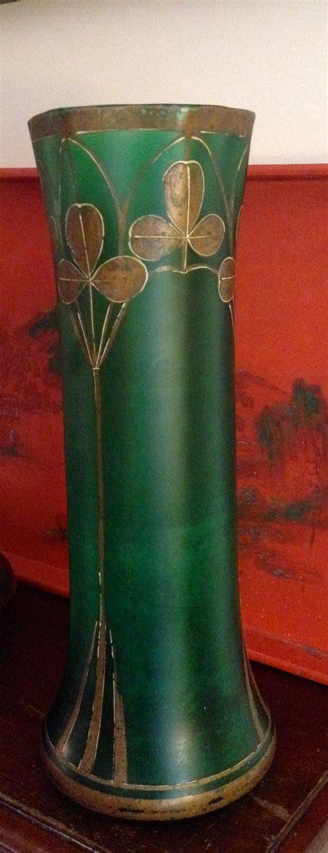 Green Vase by Antiques Atlas Nouveau Green Vase