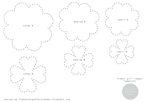 Paper Flower Template Free by 10 Best Images Of Paper Flower Template Printable