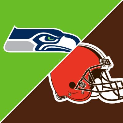 seahawks  browns game summary october   espn