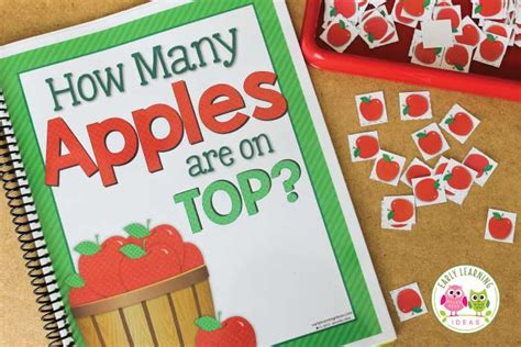 Apples on Top: Make a Class Apple Counting Book [Free ...