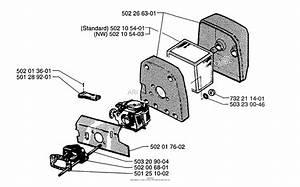 Husqvarna Chainsaw Carburetor Adjustment Diagram