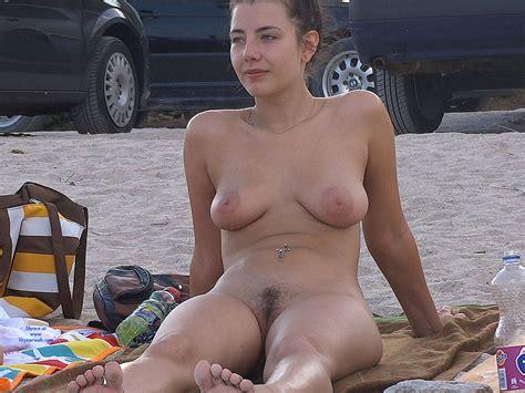 Brunettes Hairy Pussy At Beach August Voyeur