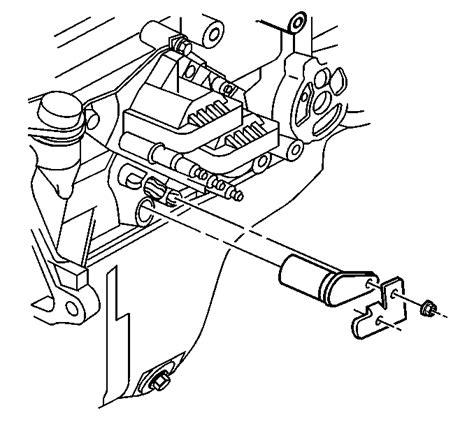 crankshaft position sensor located