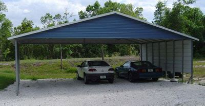 3 Car Metal Carport by 3 Car Garage And 3 Car Carport For Sale