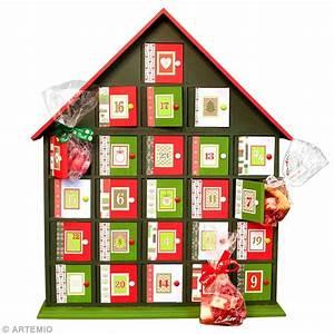 Calendrier De L Avent Pour Adulte : calendrier de l 39 avent original en rouge et vert id es ~ Melissatoandfro.com Idées de Décoration