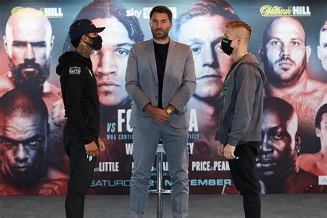 Benn Vs. Formella - Live Updates — Boxing News