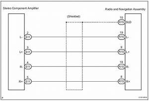 Toyota Sienna Service Manual  Sound Signal Circuit Between