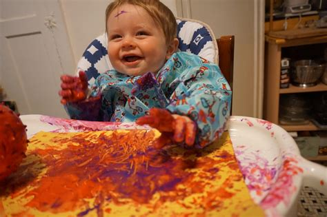 developmental activities   month  babiesfinger