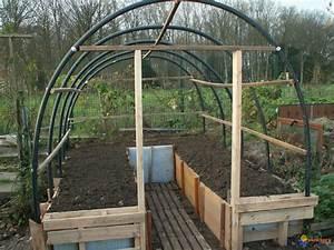 Fabriquer Une Serre En Bois : photo ma serre en construction ~ Melissatoandfro.com Idées de Décoration