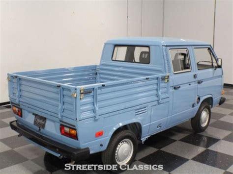 1991 volkswagen t3 transporter doka german cars for sale blog