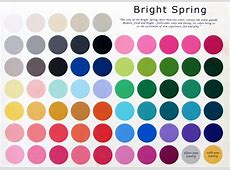 Bright Spring Color Palette What to Wear Wardrobe
