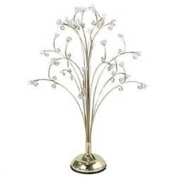kurt adler metal tabletop ornament display stand gold ornaments tree ebay