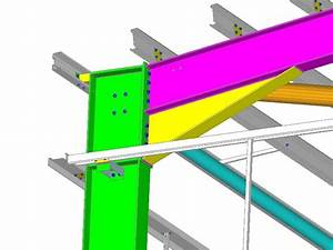 CAD detail of portal frame haunch Diagrams, Drawings