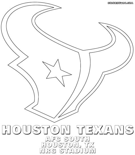 Nfl Afc Logo Coloring Pages Printable Coloring Pages