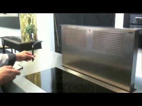 hotte de cuisine hotte de plan de travail emb pour cuisine intégrée chez