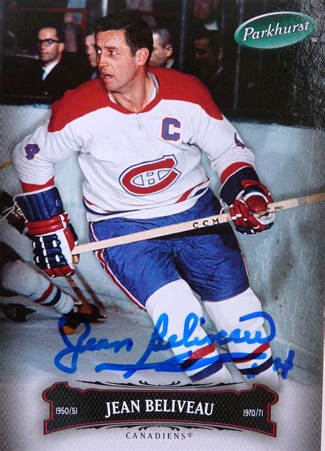 jean beliveau montreal canadiens hockey legends hockey