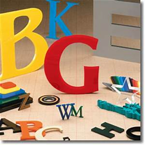 cut plastic sign letters With gemini channel letters