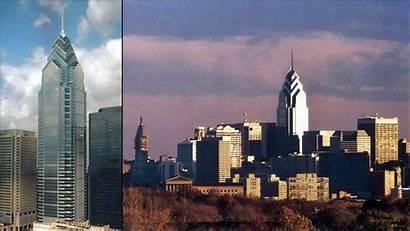 Philadelphia Skyline Liberty Place Tallest Philly Buildings