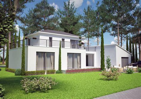 plan de maison à étage 4 chambres maison etage 100m2 maison toiture monopente de 100m2