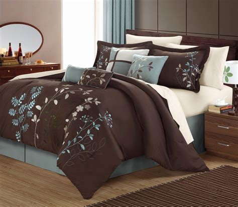 chocolate brown comforter bliss garden 8 chocolate brown comforter set