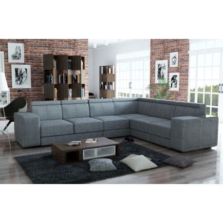 canapé d angle grande taille canapé d 39 angle de grande taille 7 places caaria tissu