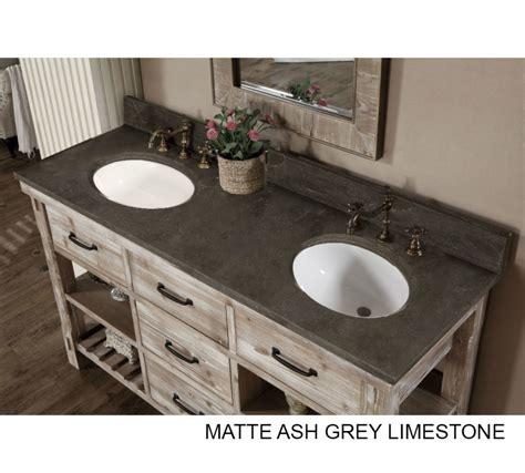 rustic double sink vanity accos 60 inch rustic double sink bathroom vanity marble top