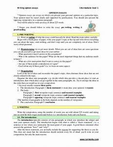 Writing Opinion Essay Essay On Holocaust Sample Opinion Essay Topics  Ielts General Writing Opinion Essay Dissertation Proposal Defense  Presentation Essay On Business also The Thesis Statement Of An Essay Must Be  Abortion Essay Thesis