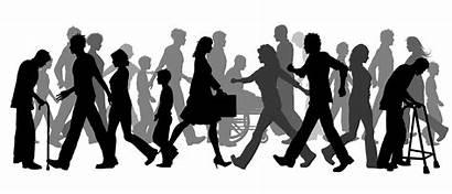 Clipart Community Person Humans Walking Clip Transparent