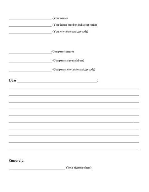 page  business letter graphic organizerpdf