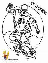 Skateboard Coloring Pages Colouring Printable Transportation Skateboards Printables Skateboarding Fun Skateboarder Boys Atv Boy Balloons Yescoloring Wheeler Rider Bicycles Air sketch template