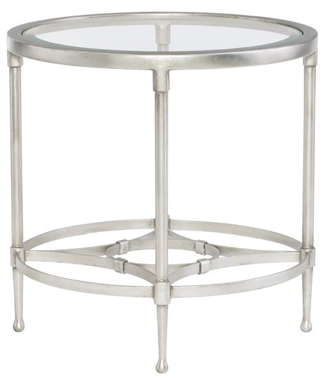 glass dining room table set metal end table with glass top bernhardt