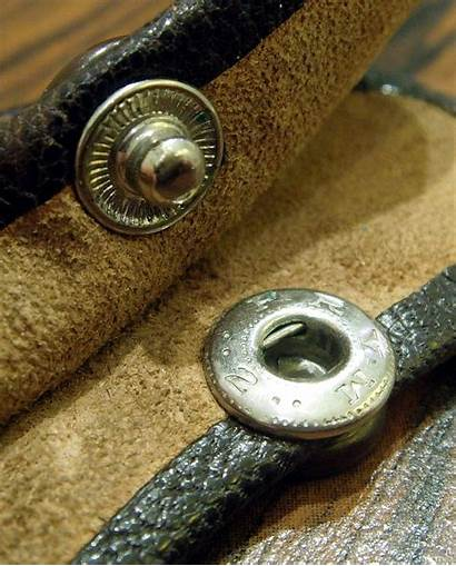 Snap Fastener Snaps Fasteners Clothing Types Different