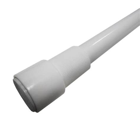 menards tension curtain rods excell glide n set 40 quot tension rod at menards 174