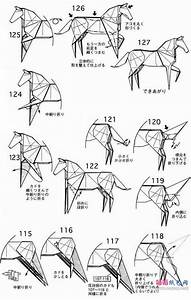 free coloring pages origami horse 10 origami With origami diagrams