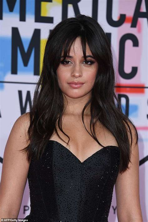 Camila Cabello Goes Rocker Chic Black Corset With
